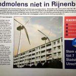 windmolens niet in Rijnenburg - Stadsbelang