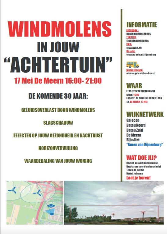 Flyer 'Kom naar De Schalm'