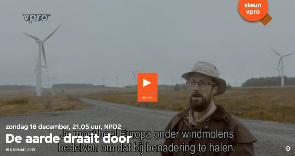 """Beeld uit documentaire VPRO Tegenlicht """"De aarde draait door""""."""