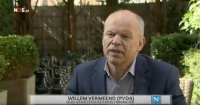 Willem Vermeend, oud-staatssecretaris Financiën