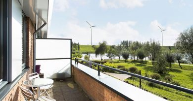 Zicht vanaf balkon in Veldhuizen (De Meern). Foto: Jeroen, RES in Beeld.